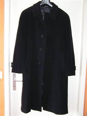 manteau pure laine bleu marine t50 pour port sur costard vestes manteaux. Black Bedroom Furniture Sets. Home Design Ideas