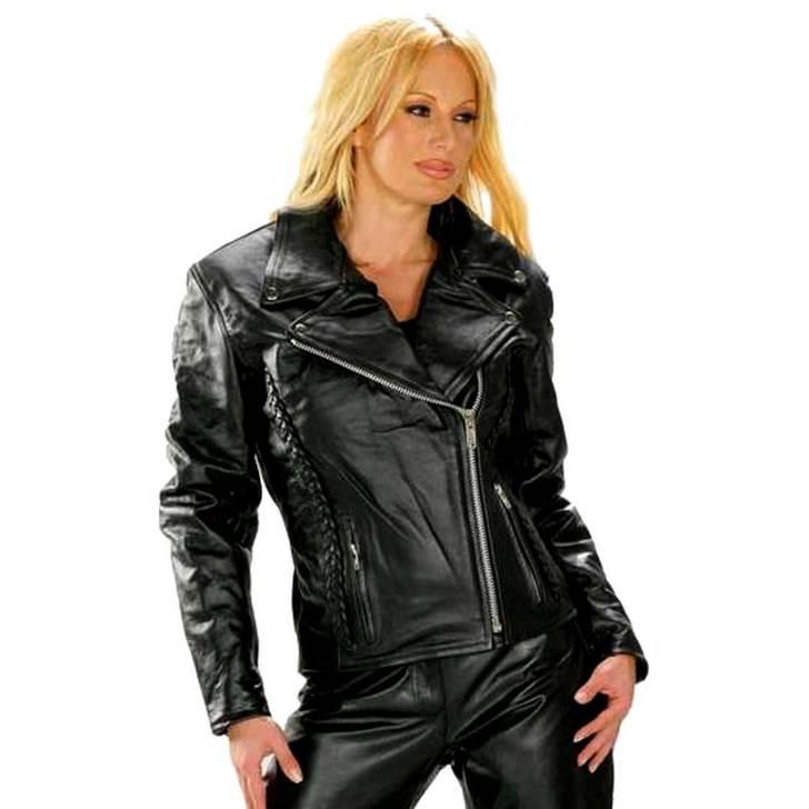 perfecto femme en cuir vestes. Black Bedroom Furniture Sets. Home Design Ideas