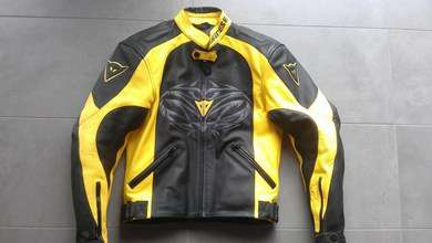 veste moto dainese tattoo taille 44 correspond un 36 38 vestes. Black Bedroom Furniture Sets. Home Design Ideas