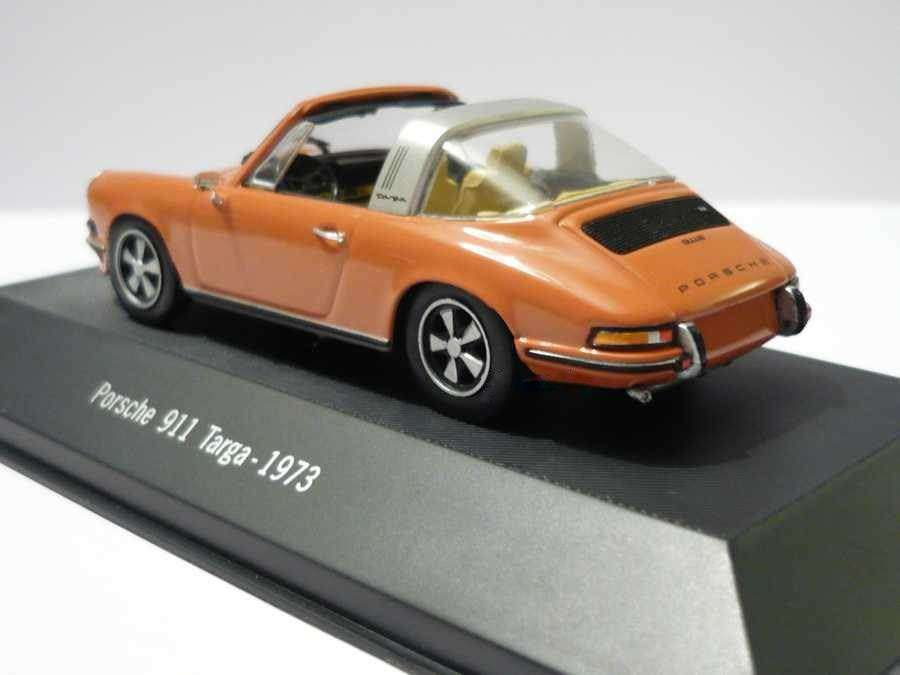 neu porsche 911 targa 1973 hellbraun 1 43 von atlas. Black Bedroom Furniture Sets. Home Design Ideas