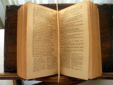 Livre Ancien De 1805 En Italien