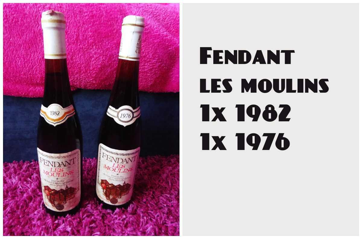 vin blanc suisse fendant les moulins 1982 et 1976 vins blanc suisse. Black Bedroom Furniture Sets. Home Design Ideas