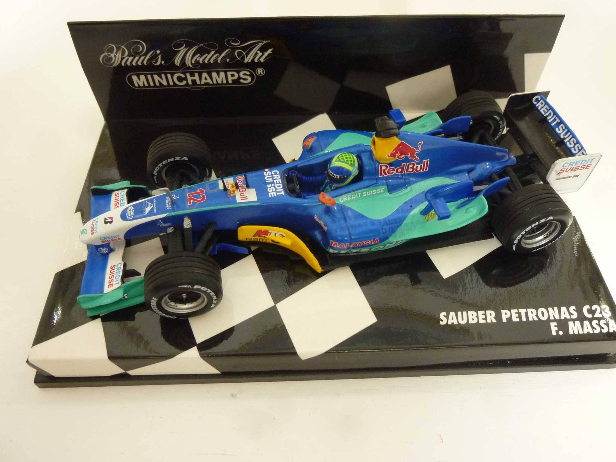 Scrapeo Expired Jaket Redbull Sauber C23 Petronas F1 Felipe Massa Minichamps 143 30 Chf