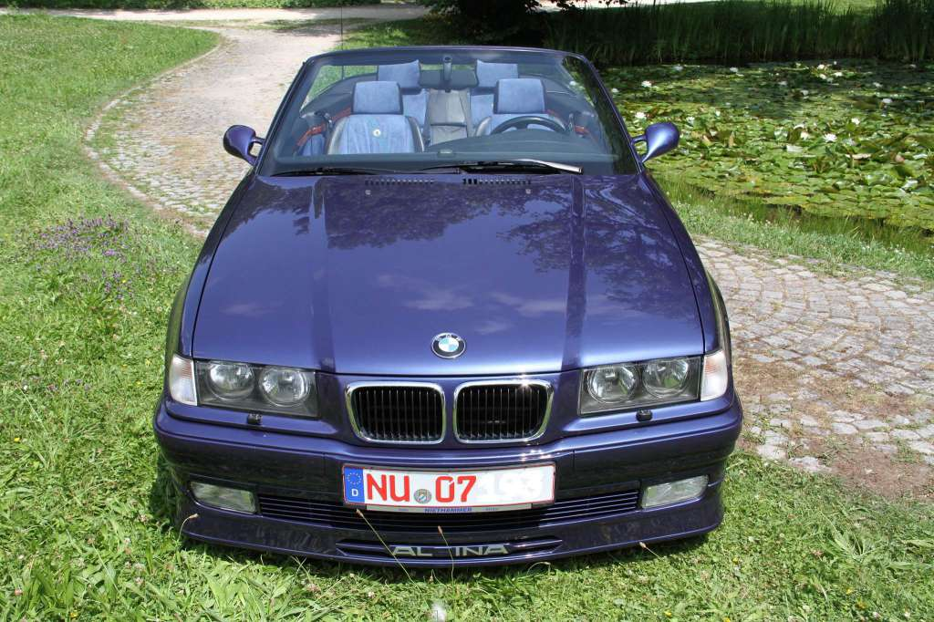 bmw alpina b8 4 6 cabrio e36 v8 1996 103 39 500 km. Black Bedroom Furniture Sets. Home Design Ideas