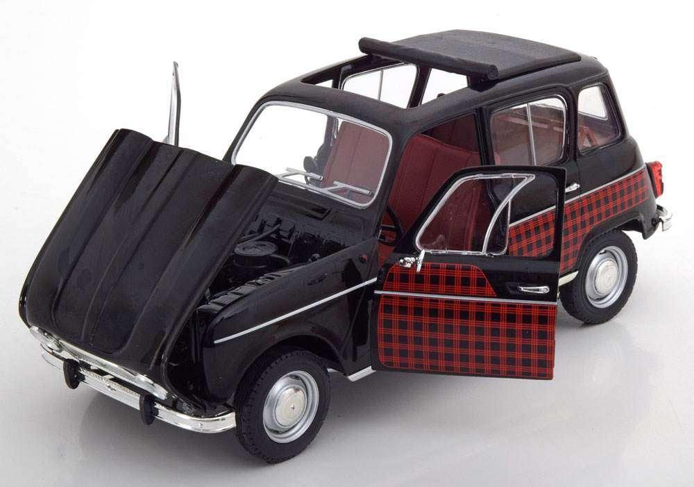 Neu Renault 4 Parisienne 1963 1964 Schwarz Rot 118 Voitures