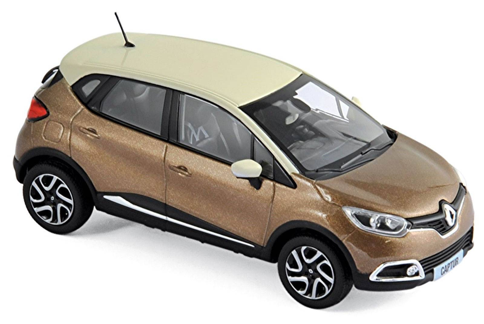 scrapeo neu renault captur phase i 2013 2017 hellbraun met beige. Black Bedroom Furniture Sets. Home Design Ideas