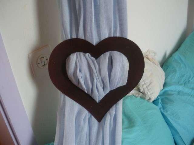 Petit coeur embrasse rideau - Teppiche, Vorhänge & Storen