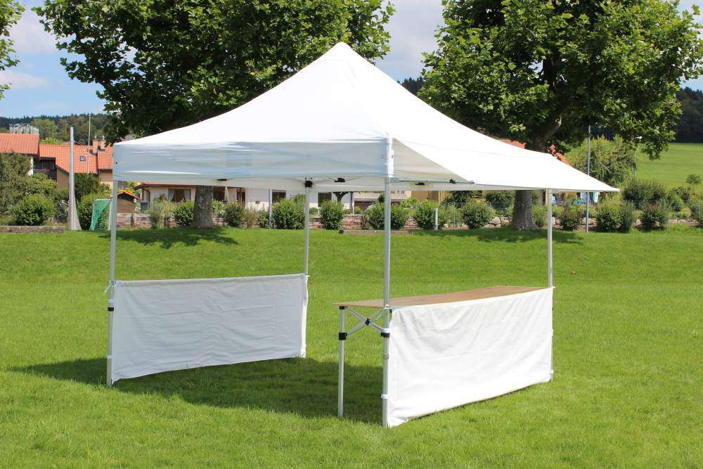 gardeko marktzelt 3x6 profi gartenzelt partyzelt festzelt zelte pavillons. Black Bedroom Furniture Sets. Home Design Ideas