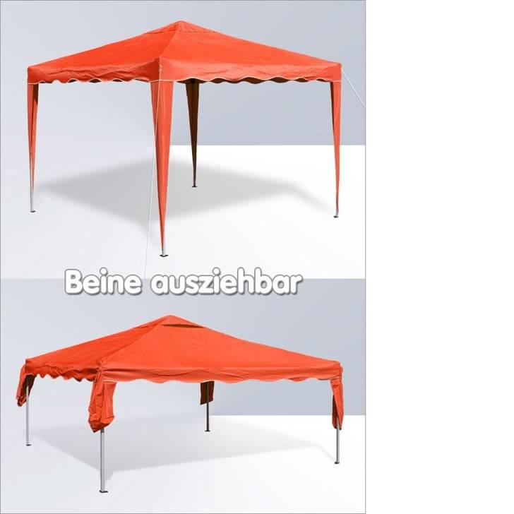 gartenpavillon faltzelt alu metall 3 x 3 meter zelte pavillons. Black Bedroom Furniture Sets. Home Design Ideas