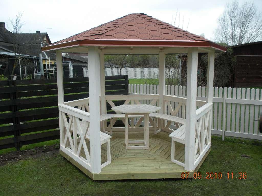 Kiosque de jardin de 6m2 - Zelte & Pavillons